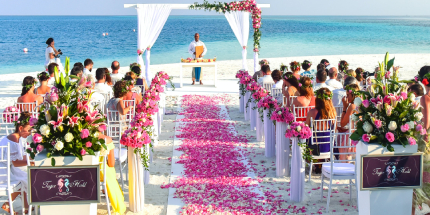 Best International Wedding Planning Style - Decor, Technical & Production Services
